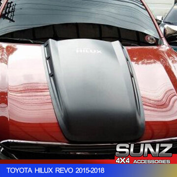 BONNET SCOOP COVER FOR TOYOTA HILUX REVO 2015-2017