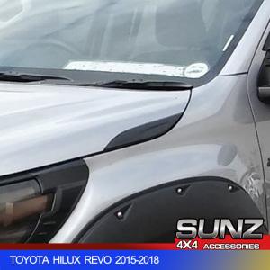 BONNET SIDE WIND DECORATION FOR TOYOTA HILUX REVO 2015-2018