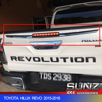 REAR GATE COVER UPPER FOR TOYOTA HILUX REVO 2015-2017