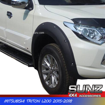 6Inch Fender Flare Wheel Arch for Mitsubishi Triton L200 2015-2018