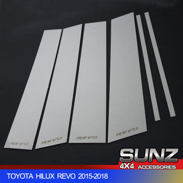 WINDOW GATE COVER FOR TOYOTA HILUX REVO 2015-2017