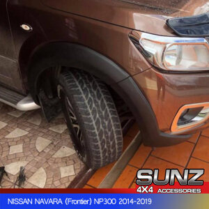2WD FENDER FLARE FOR NAVARA NP300 2014-2019