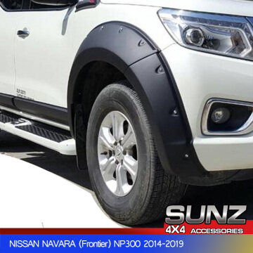 FENDER FLARE WHEEL ARCH MATTE BLACK for nissan navara np300 2014-2019