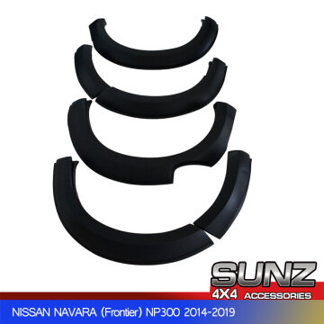 Fender Flare smooth for nissan navara np300