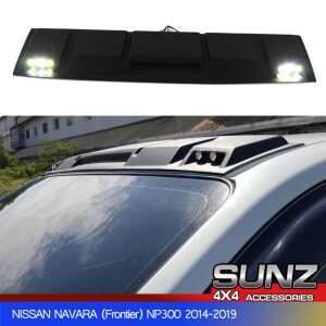 1.5W led Front Roof cover black for Nissan navara frontier np300 2014-2019