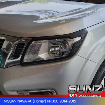HEAD LIGHT COVER FOR NISSAN NAVARA NP300 FRONTIER (2015-2018)