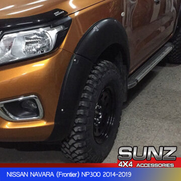 MODIFIED DESIGN FENDER FLARE FOR NISSAN NAVARA NP300 FRONTIER (2014-2019)