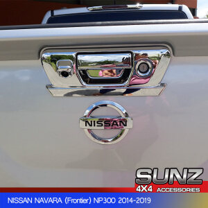 Tail gate cover for Nissan Navara np300 2015-2019