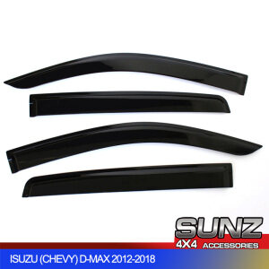 DOOR VISOR FOR ISUZU DMAX (2012-2019)