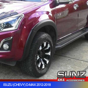 Slim OEM style Fender Flare Wheel Arch for Isuzu Dmax (2012-2017) --OEM DESIGN