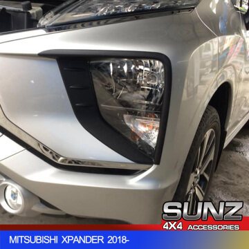 Xpander Head light cover black headlight trim for Mitsubishi Xpander 2019 MPV