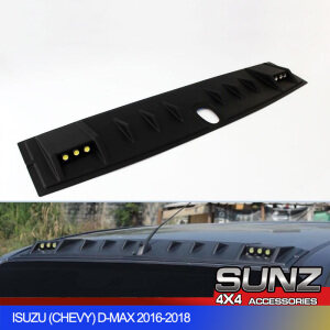 FRONT ROOF SPOLIER WITH DRL LED Light FOR ISUZU D-MAX DMAX 2015 2016 2017