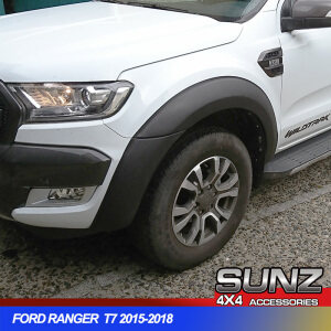 SMOOTH FENDER FLARE wheel arch FOR PX2 FORD RANGER T7 2015-2018
