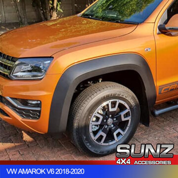 Amarok FENDER FLARE Matte Black over for VW Amarok V6 2018-2020