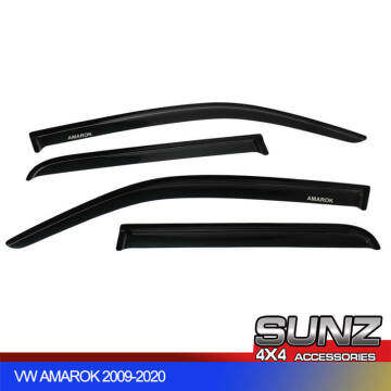 Amarok Door Visor Wind Deflector for Volkswagen VW Amarok 2009-2020