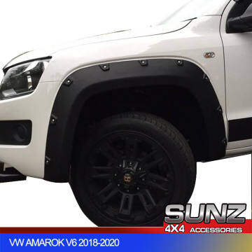 Amarok With Bolts Modified FENDER FLARE Matte Black over for VW Amarok 2009-2014