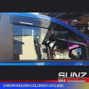 Colorado Door visor for Holden Colorado double cab 2012-2020