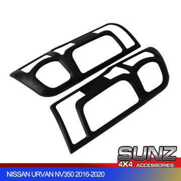 NV350 Urvan accessories taillight tail light cover Black for NV350 2018 2019 2020
