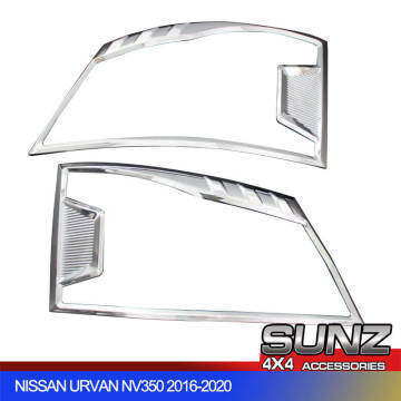 2018-2020 auto car accessories head light cover headlights cover for Nissan nv350 Uravan cover kits.