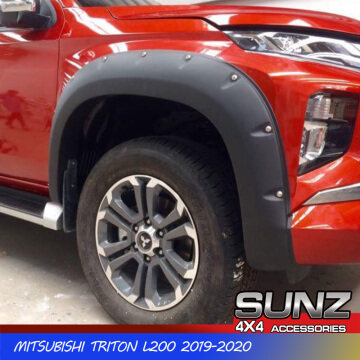 MT19FFM-6138 Fender Flare wheel arch for Mitsubishi Triton L200 2019 2020