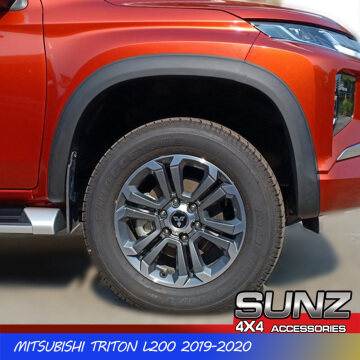 Slim fender flare for Triton 2019