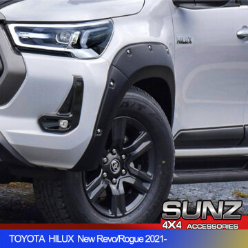 6187MB 4X4 Fender flare arch for TOYOTA HILUX 2021 new Revo Rogue accessories