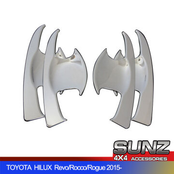 0011CH Door handle insert bowl no Logo for TOYOTA HILUX 2021 new Revo Rocco Rogue accessories