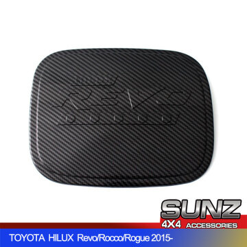 0013CF Fuel tank cover 4x4 for TOYOTA HILUX 2021 new Revo Rocco Rogue accessories