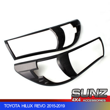 Carbon fiber head light cover for revo