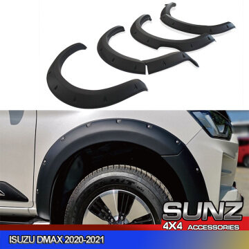 Dmax fender flare with bolts