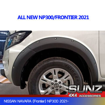 6198MB Fender flare arch with bolts for Nissan np300 2021 frontier accessories