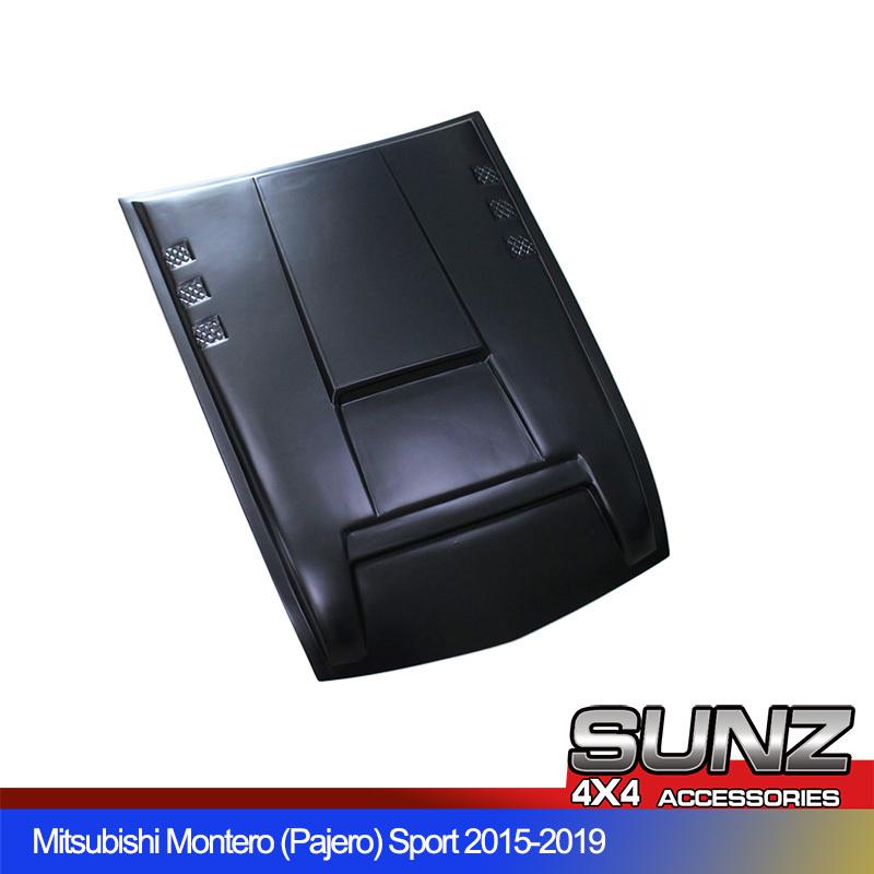 Mitsubishi Pajero Bonnet scoop cover Hood cover black for Montero sport 2015 2016 2017 2018 2019 2020