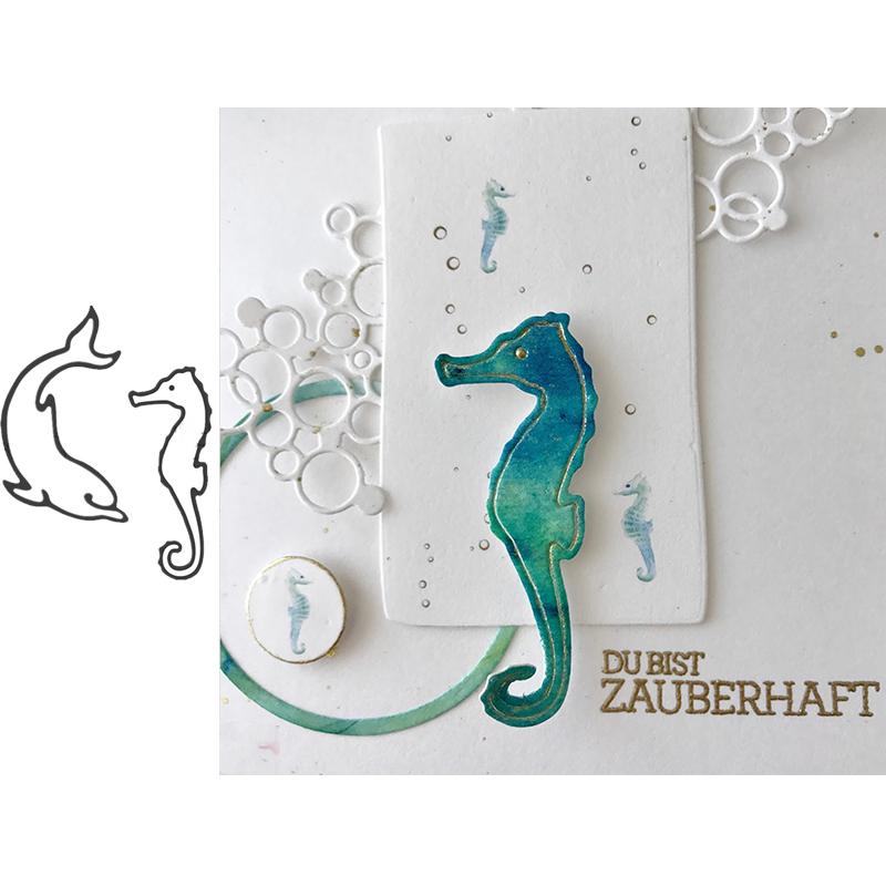 Metal Cutting Dies Stencils DIY Scrapbook Animal Card Paper Album Embossing New