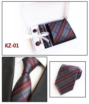 2019 fashion new design polyester necktie woven polyester tie