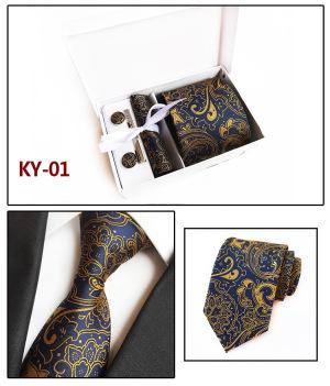Big Flower Polyester neck tie