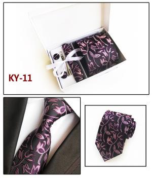Men's Flowers Pattern Cotton Skinny Necktie Tie Wedding Tie