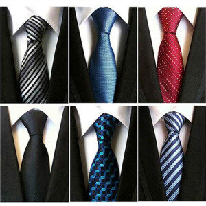 100% Printed Silk Fashion Classic Tie Made in China
