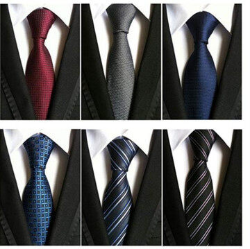 100% Printed Silk Fashion Classic Necktie