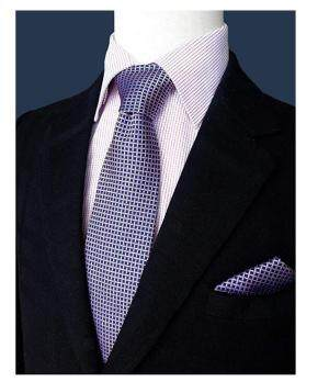 100% Printed Silk Necktie Set for Men Handmade Tie Fashion Tie