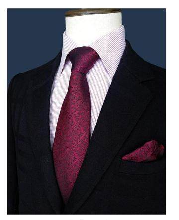 100% Printed Silk Necktie Set for Men Handmade Tie Fashion Tie Made in China