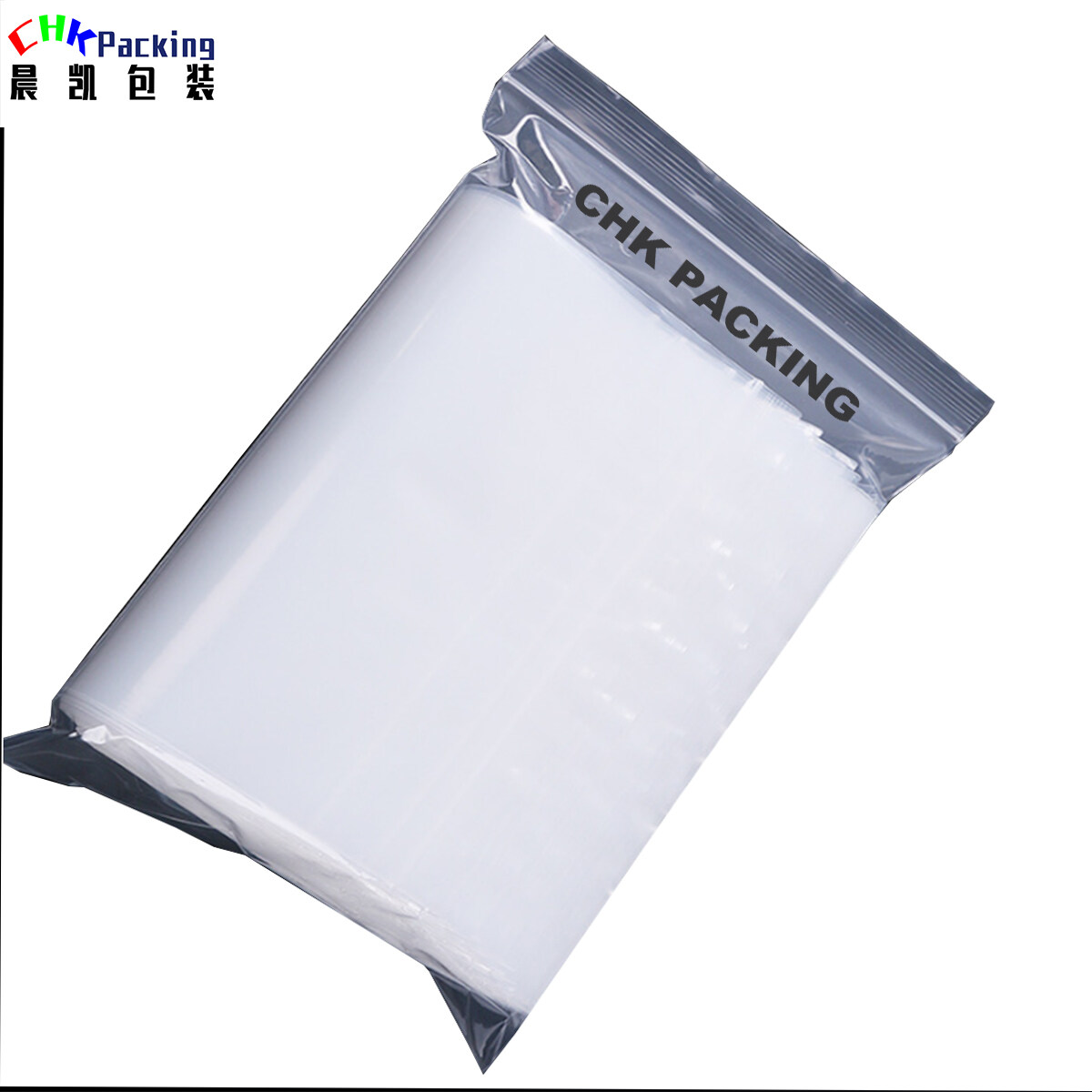 China customized transparent PE ziplock bag for jewelry