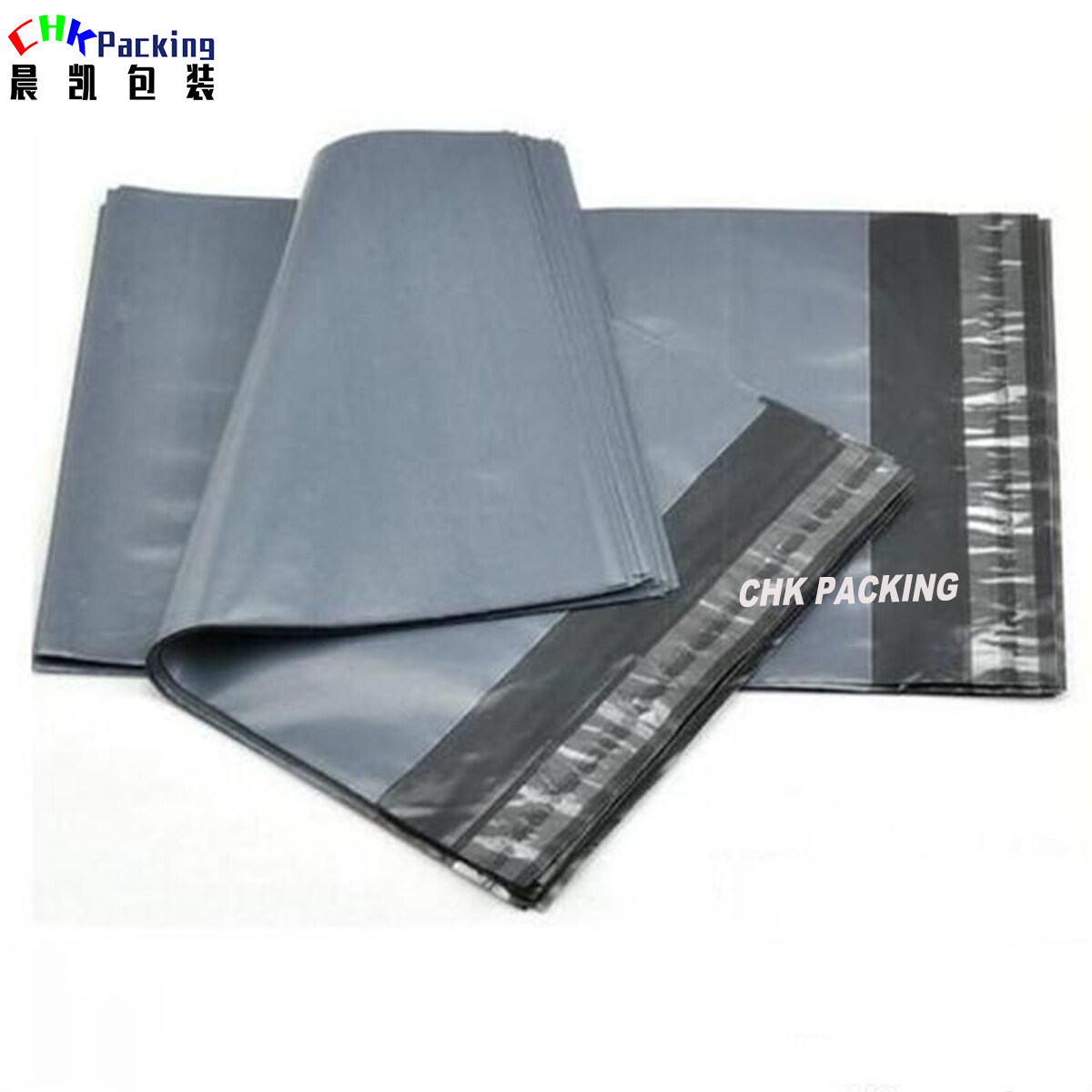 CHK Packing Mailing Postage Bags for Garment Packaging ,white color mailing express bag