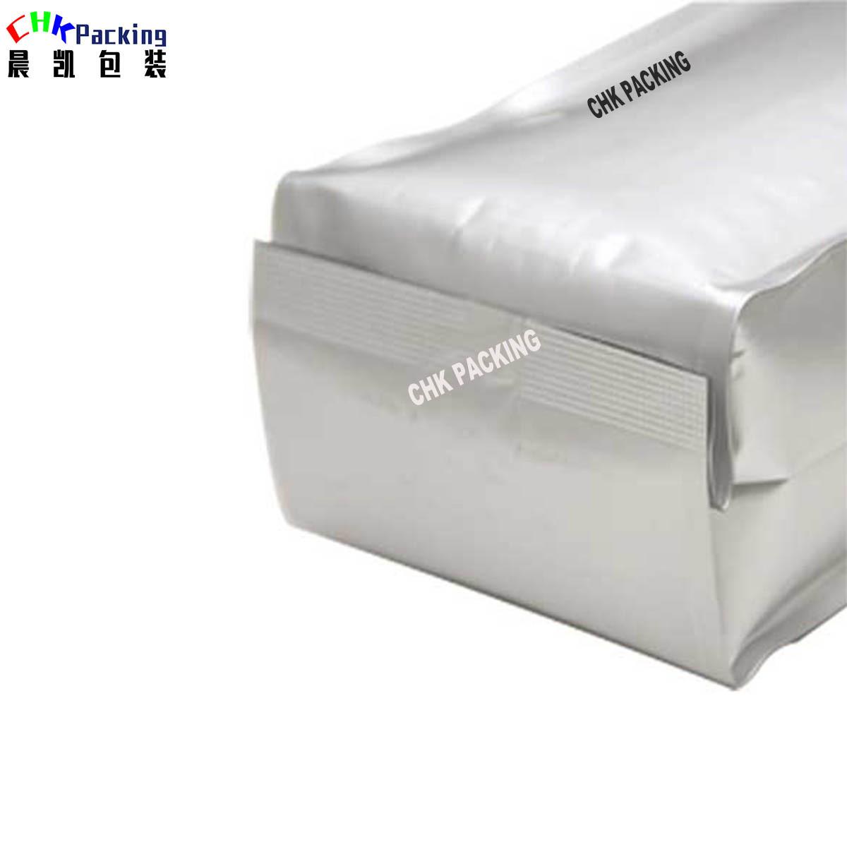 High quality Heat seal Aluminium foil side gusset pouch qual sealed bag coffee bag coffee bag gusseted bags