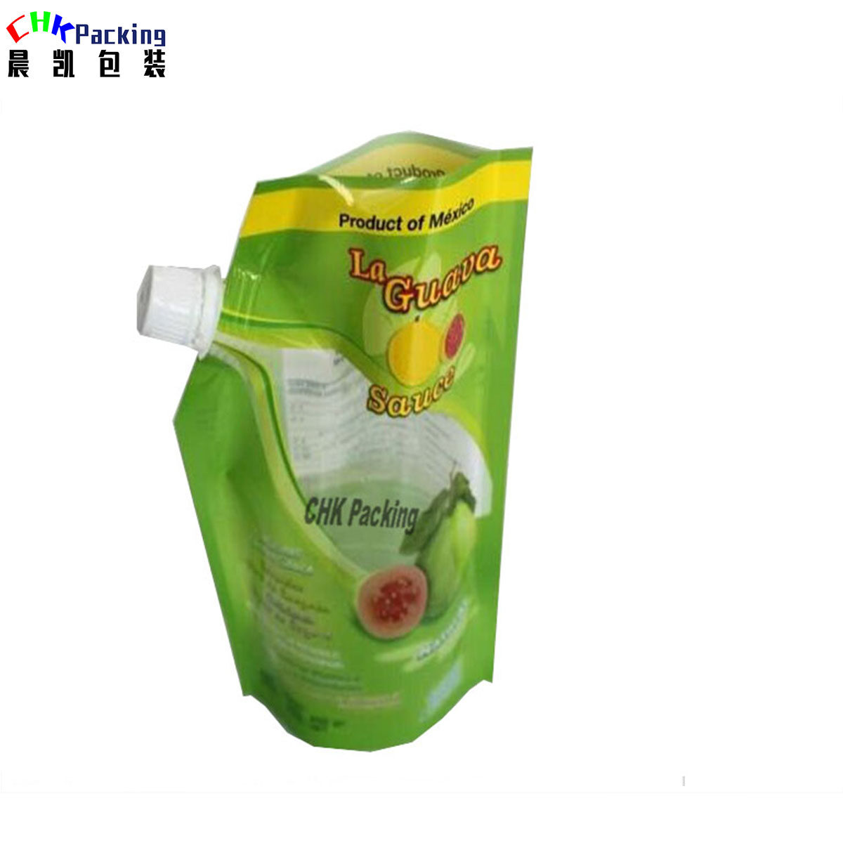 Factory Direct Sale  drink pouch with spout packaging, 4OZ 8OZ shaped stand up pouch with spout for soap liquid