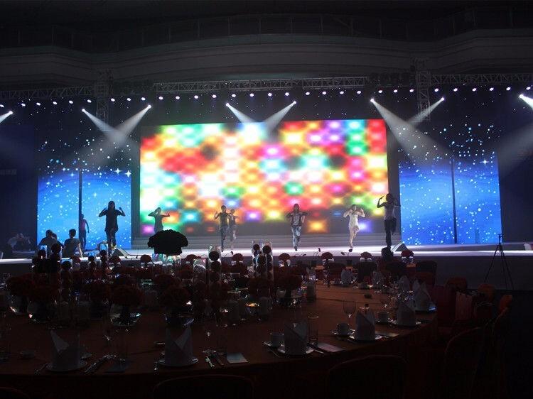 500*500mm rental led display p4.81 die-casting led screens
