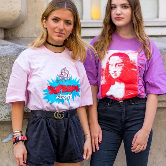 05397616449a Sup 18SS Mona Lisa t shirts