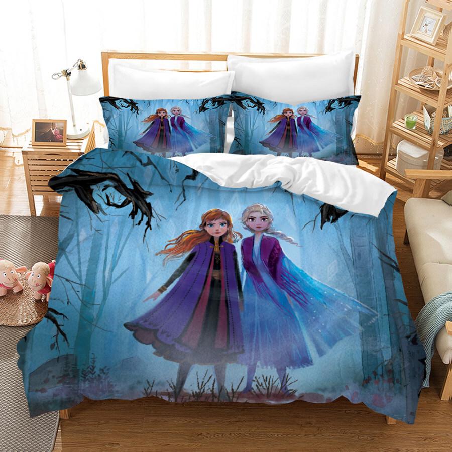 Kids Duvet cover with Elsa design