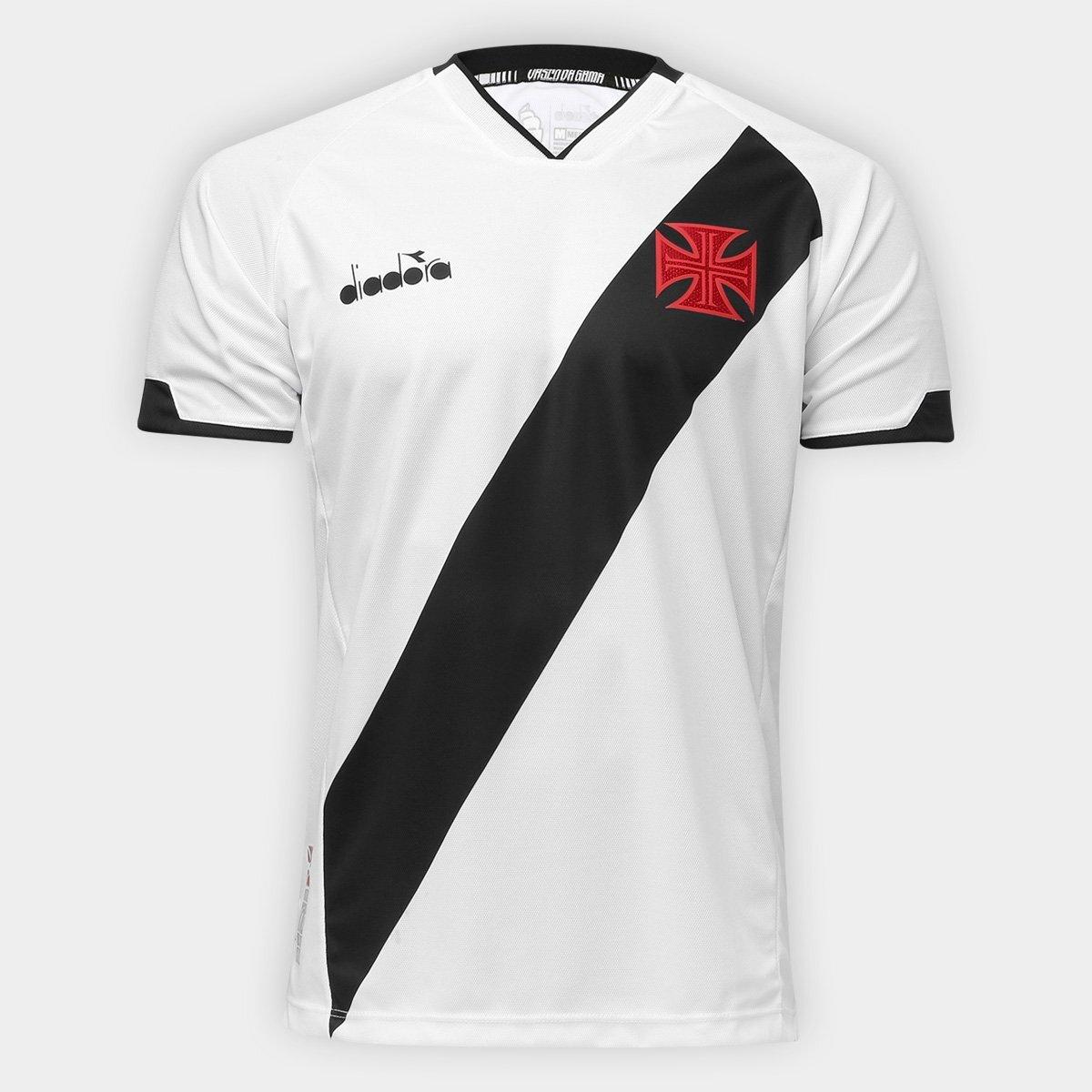 2018 2019 Diadora Brazil Vasco da Gama Third Soccer Football Jersey Shirt