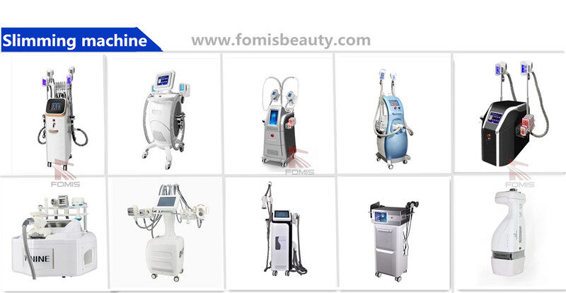 Portable fat freezing cryolipolysis lipolaser RF cavitation body slimming machine