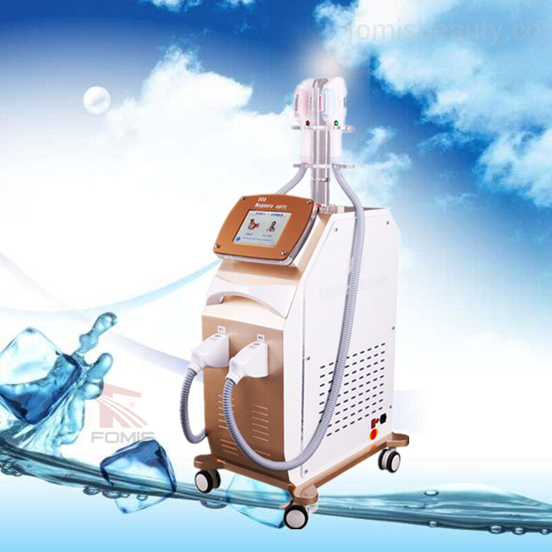 360 magneto optic ipl shr super hair removal machine
